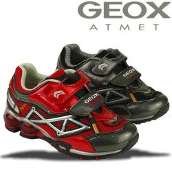 GEOX Blink Sneaker FIGHTER2 M rot o. schwarz Gr.26-34 schwarz 29