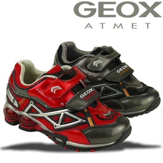 GEOX Blink Sneaker FIGHTER2 M rot o. schwarz Gr.26-34 schwarz 34