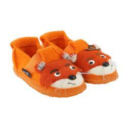 NANGA FOX kleiner Fuchs Hausschuh Slipperform safran...