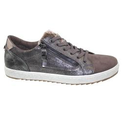 TOM TAILOR Low-Top-Sneaker 3790506 mud schimmernd Gr.37-42