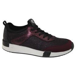 TOM TAILOR 3799106 Damen Sneaker Low-Top Glitzer-Optik...
