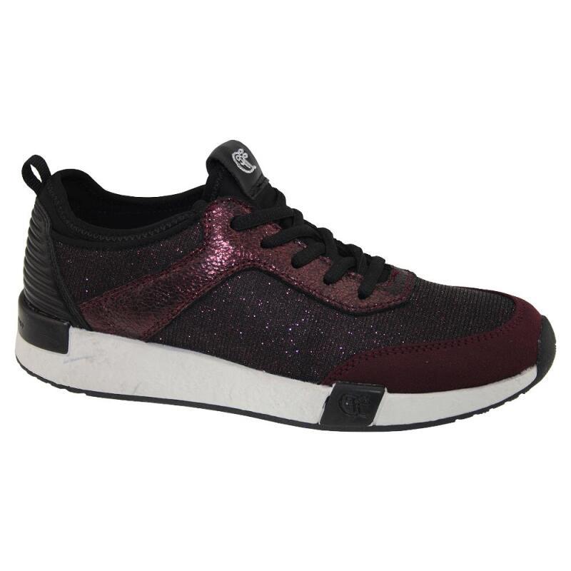 tom tailor 3799106 damen sneaker low top glitzer optik gr. Black Bedroom Furniture Sets. Home Design Ideas