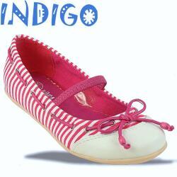 INDIGO Ballerina Sommertrend gestreift 3 Farben Gr.24-39