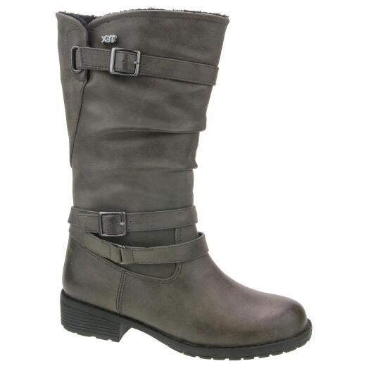 buy online 3618b 9903b INDIGO Mädchen Stiefel 466 773 Warmfutter und Tex graphite Gr.32-39