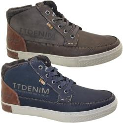 TOM TAILOR Denim 3785004 Herren Boots gefüttert in 2...