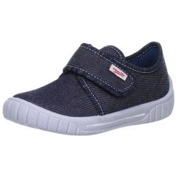 SUPERFIT Kinder Hausschuh Sneaker BILL 00273 breiter...