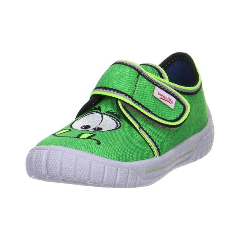 accb759ae57406 SUPERFIT Kinder Hausschuh Sneaker Monster BILL 00270-31 grün Gr.23 ...