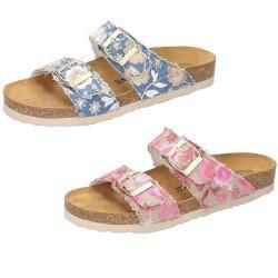 DR.BRINKMANN Sandale Pantolette Lederfussbett 701143 Gr....
