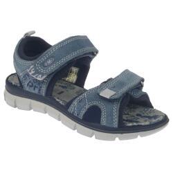 Primigi PTV 13964 Leder Sandale sehr leicht Klett Blau...