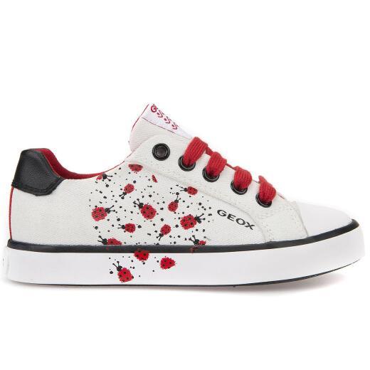 de770255f1e828 GEOX CIAK Girl Sneaker Turnschuh flach mit Reissverschluß Gr.30-39 ...