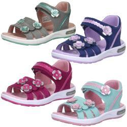 SUPERFIT EMILY Sandale Leder Mod.00133 Klett Blumen Gr.24-35