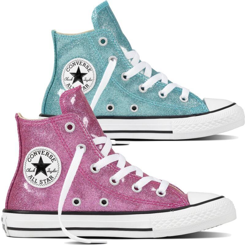 CONVERSE CTAS High Glitter Look Sneaker 660042C und 660043C Gr. 30 38,5