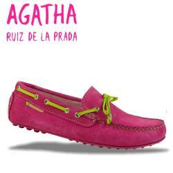 AGATHA RUIZ DE LA PRADA Mokassin Segelschuh 2 Farben Gr.34-40 türkis 40
