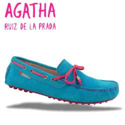 AGATHA RUIZ DE LA PRADA Mokassin Segelschuh 2 Farben Gr.34-40 pink 35