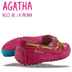 AGATHA RUIZ DE LA PRADA Mokassin Segelschuh 2 Farben Gr.34-40 pink 39