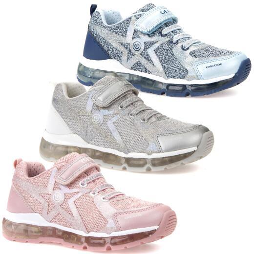 GEOX Lights Blinkschuh Halbschuh Sneaker Active ANDROID Girl Gr.24 38