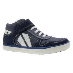 INDIGO Jungen Leder Sneaker High-Top Halbschuh 451052000...