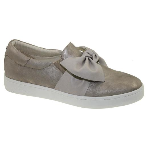 e22b1a5e509e85 ... TOM TAILOR 4892617 Damen Sneaker Slipper Schleife Metallic-Optik Gr.37- 43