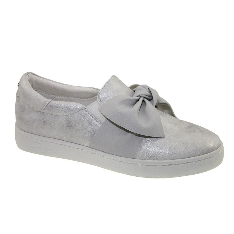 tom tailor 4892617 damen sneaker slipper schleife metallic. Black Bedroom Furniture Sets. Home Design Ideas