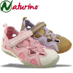 Naturino HIROSHI coole Halbsandale in 2 Farben Gr. 23-38 lila 25