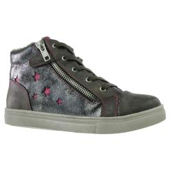 INDIGO Mädchen High-Top-Sneaker Boots gefüttert...