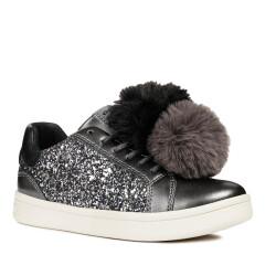 GEOX Mädchen J Djrock Girl D Slip on Sneaker Low-Top...