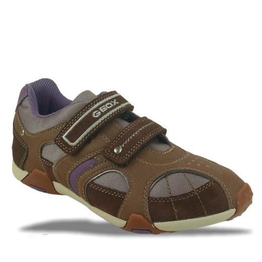 skönhet Förenta staterna ny livsstil GEOX Leder Sneaker J TALE F braun NEU Gr.33-41, 61,11 €