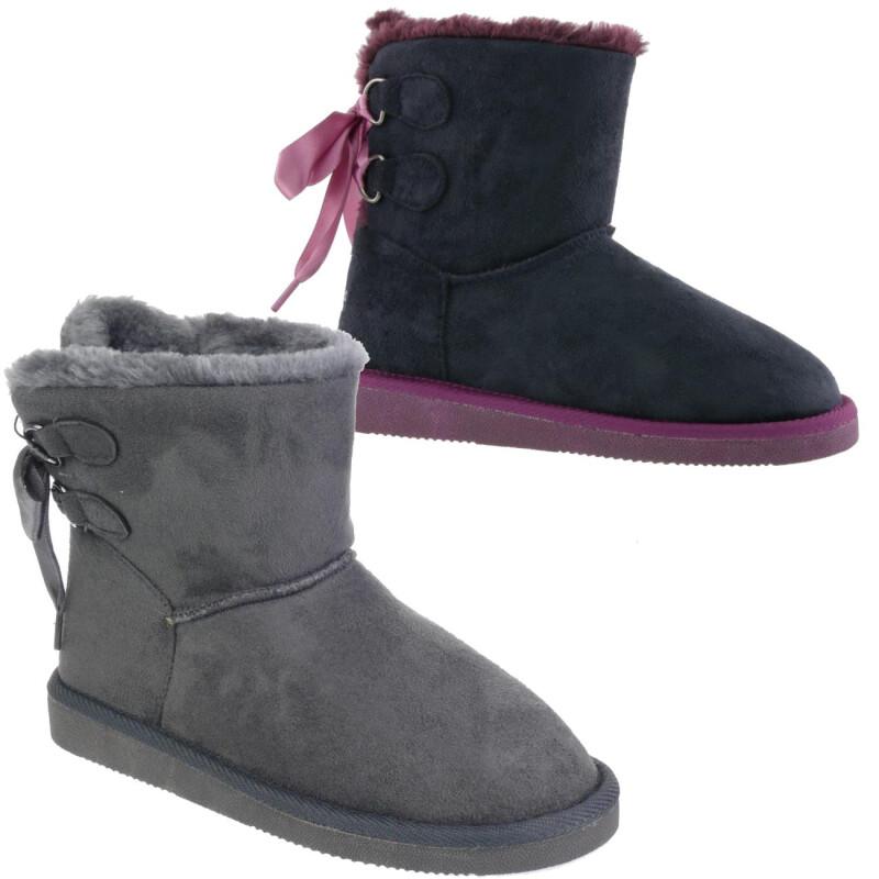 Stiefel in Blau von Indigo für Mädchen.
