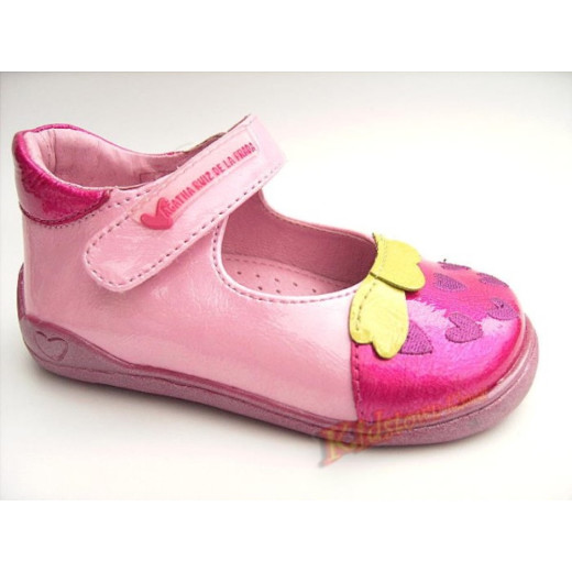 AGATHA RUIZ DE LA PRADA Lauflern Ballerina Fußbett Gr.20-24 rosa 20