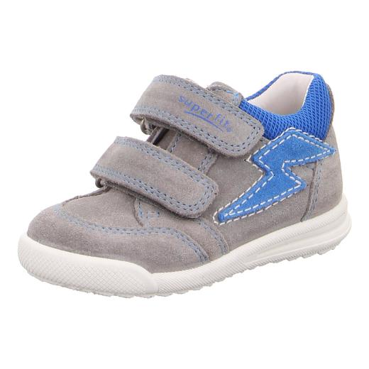 promo code f0ca2 dcf9c SUPERFIT Baby Kinder Leder Halbschuh Sneaker AVRILE 09373-25 Klett Weite  schmal Gr.19-26