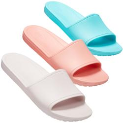 CROCS Sloane Slide Women Sandale Badepantolette Uni in 3...