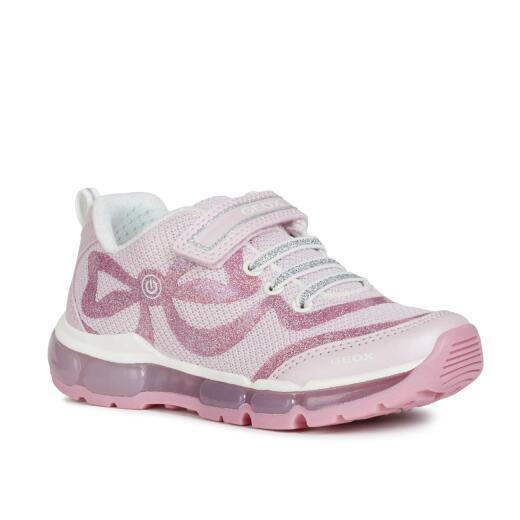 GEOX Lights Blinkschuh Halbschuh Sneaker Active Junior ANDROID Girl Gr.25 32