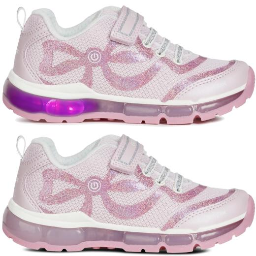 GEOX Lights Blinkschuh Halbschuh Sneaker Active Junior ANDROID Girl Gr.25-32