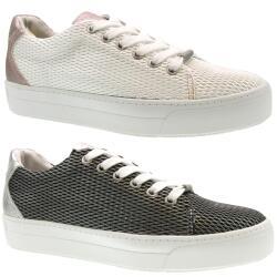 JANE KLAIN Damen Sneaker Low-Top Schnürhalbschuhe...