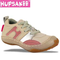 Hupsakee Leder Sneaker Halbschuh Gr. 22-25
