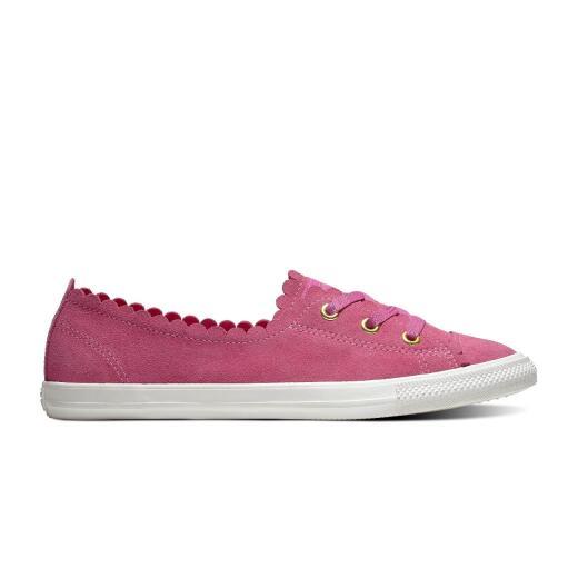 finest selection cb66e 97969 CONVERSE CTAS Ballet Lace Ox Leder Sneaker active fuxia Low-Top Gr.38-43