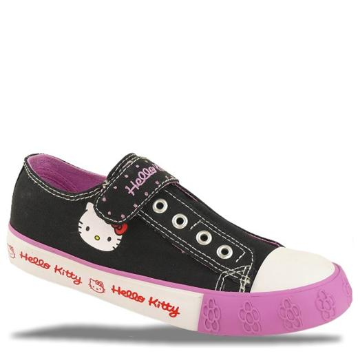 Hello Kitty Turnschuhe Slipper Klett Gr. 27-35