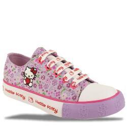 Hello Kitty Sneaker mit Reißverschluss flieder Gr....