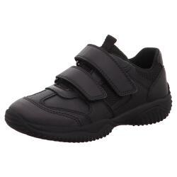 SUPERFIT STORM Halbschuh Sneaker Nappaleder Klett...