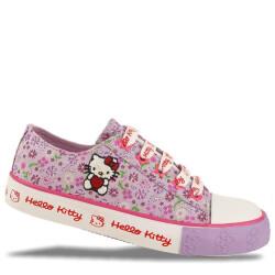 Hello Kitty Sneaker mit Reißverschluss flieder Gr. 27-35  35