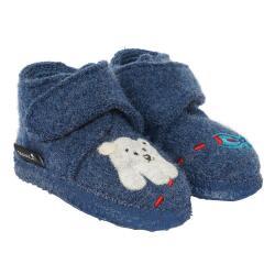 Nanga Polar Bear Kleinkind Baby Hausschuh Klett blau...