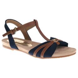 TOM TAILOR 8092209 Damen Sandale T-Steg-Sandale...