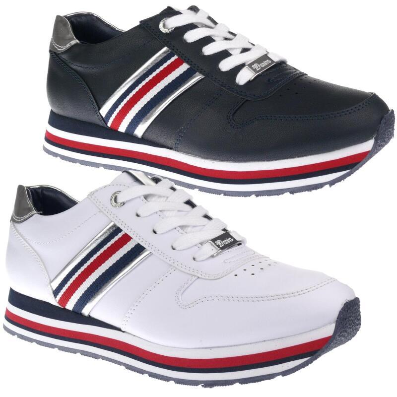 Tom Tailor 8095501 Damen Sneaker Low Cut Schnürer Plateau Gr.37 43