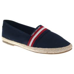 Tom Tailor 8092015 Damen Espadrilles Slipper Denim navy...