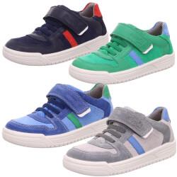 Superfit Leder Sneaker Halbschuh Slow-Top Weite W...