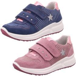 Superfit Leder Sneaker MERIDA HS Mod.00187 Klett Glitzer...