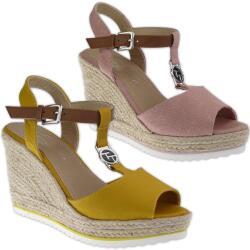 Tom Tailor 8090214 Damen Riemchen Sandalette Keilpumps...