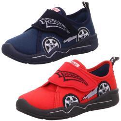 Superfit Kinder Hausschuh Sneaker Rennauto BENNY 00301...