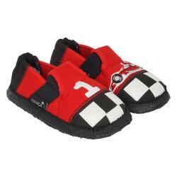 Nanga Rennfahrer Kinder Hausschuh Slipperform rot Gr.23-35