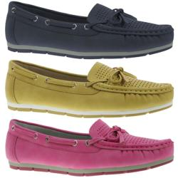 JANE Klain 242646 Mokassin Segelschuh Loafer Slipper...